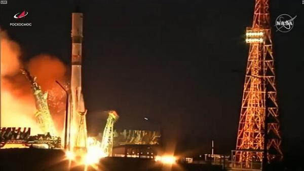 کپسول فضایی روسی,ایستگاه فضایی
