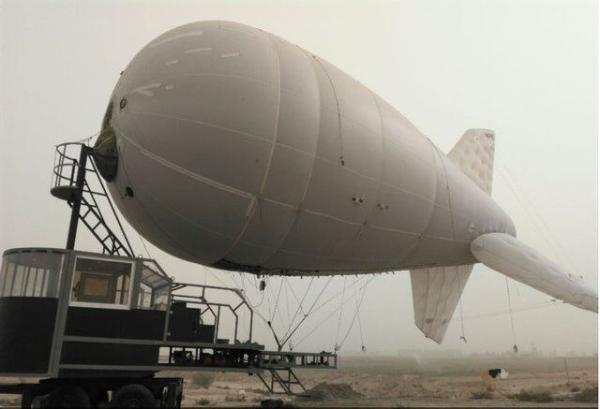 بالن های مخابراتی,کشتی هوایی