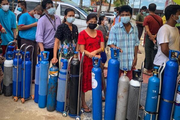 میانمار,کرونا