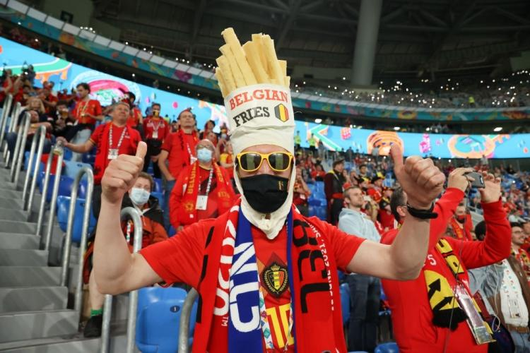 تصاویر هواداران یورو 2020,عکس های طرفداران فوتبال در یورو 2020,تصاویر هواداران فوتبال در یورو 2020
