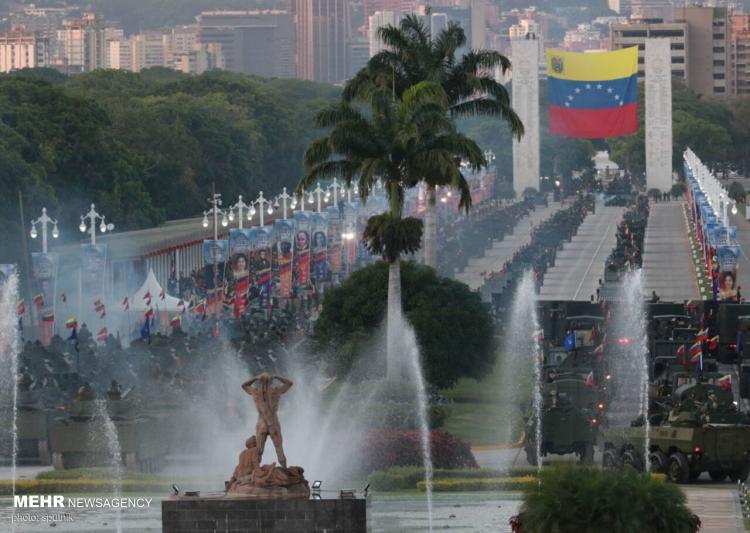 تصاویر رژه روز استقلال در ونزوئلا,عکس های رژه روز استقلال در کشور ونزوئلا,تصاویر رژیه روز استقلال ونزوئلا