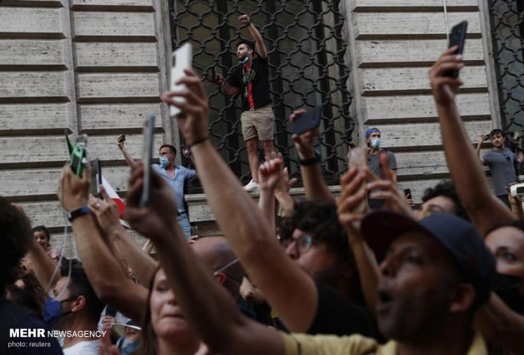 تصاویر بازگشت بازیکنان ایتالیا به رم,عکس های بازیکنان ایتالیا در رم,تصاویر بازیکنان تیم ملی ایتالیا در رم
