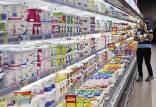 افزایش قیمت شیر و لبنیات,قیمت شیر در بازار