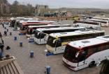 قیمت اتوبوس و تصادفادات,افزایش قیمت اتوبوس