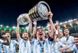 لیونل مسی,عکس لیونل مسی با جام قهرمانی در اینستاگرام