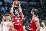 دیدار تیم ملی بسکتبال ایران و اسپانیا,تیم ملی بسکتبال