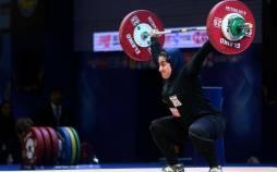 پریسا جهانفکریان,پریسا جهانفکریان وزنه بردار بانوان تیم ملی