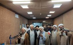 سالن تیراندازی حوزه علمیه اصفهان,سالن تیراندازی برای طلاب