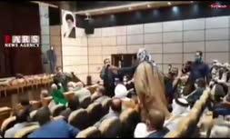 فیلم/ اعتراض سران قبایل عرب خوزستان به جهانگیری
