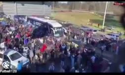فیلم/ بازگشت تیم ملی آرژانتین به بوینسآیرس و استقبال مردم از یاران مسی در اوج کرونا