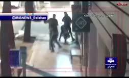 فیلم/ زورگیران خشن اصفهانی در دام پلیس