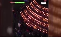 فیلم/ ابتکار برزیلیها برای ادای احترام به ۵٠٠ هزار قربانی کرونا در این کشور