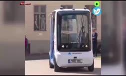 فیلم/ رونمایی از مینیبوس الکتریکی بدون نیاز به راننده در استونی