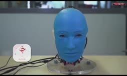 فیلم/ ربات Eva با قابلیت تقلید حالات چهره انسان