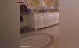 فیلم/ کاخ کشفشده مربوط به پرونده فساد در روسیه