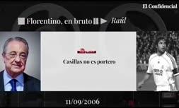 فیلم/ اظهارات باورنکردنی پرز در مورد رائول و کاسیاس