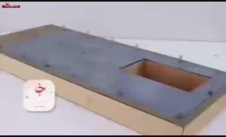 فیلم/ ساخت یک خانه کاملا واقعی، اما در ابعاد کوچک