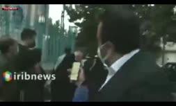 فیلم/ صف واکسیناسیون حسینیه ارشاد