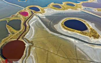 تصاویر دریای مرده چین,عکس های جاذبه های دیدنی در چین,تصاویری از دریای مرده در کشور چین