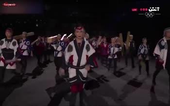 فیلم/ مراسم افتتاحیه المپیک 2020