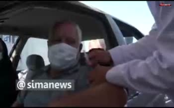فیلم/ صف ۷ کیلومتری واکسن کرونا در تهران!