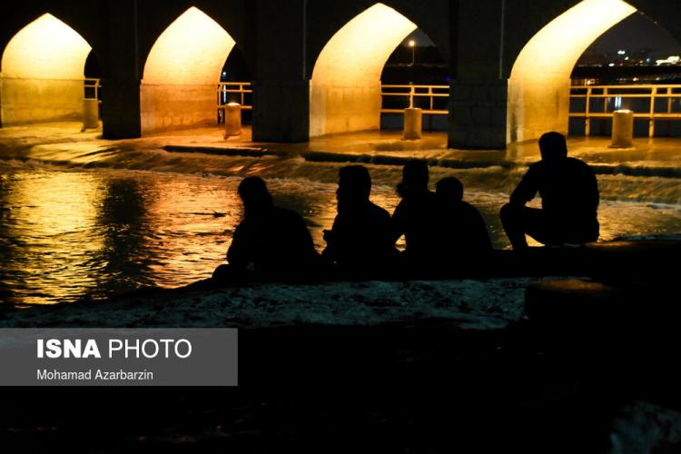 تصاویر نبض حیاتِ زاینده رود در اصفهان,عکس های زاینده رود اصفهان,تصاویر بازگشایی زاینده رود