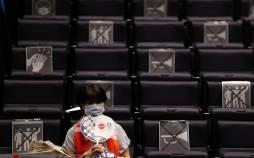 تصاویر تماشای بازیهای المپیک از راه دور,عکس های المپیک 2020,تصاویر تماشای المپیک توکیو