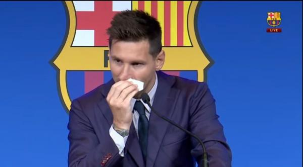 خداحافظی لیونل مسی از بارسلونا,گزارش تصویری مراسم خداحافظی لیونل مسی
