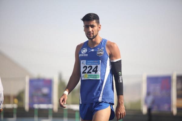 مهدی پیرجهان دونده ,تست کرونا دونده المپیکی ایران