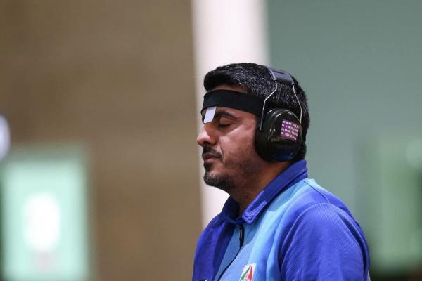مسابقات تیراندازی المپیک ۲۰۲۰,جواد فروغی