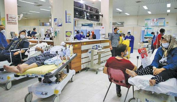 تعدا فوتی ها و بستری های روزانه کرونا در تهران,وضعیت کرونای دلتا در تهران