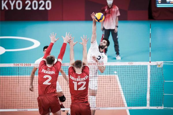 والیبال ایران کانادا,نتایج والیبال ایران در المپیک