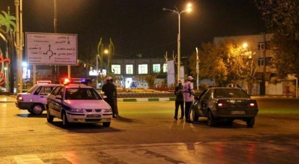 طرح تشدید برخورد با ترددهای شبانه در شهر تهران,جریمه