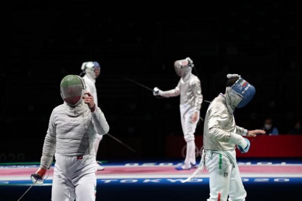 تیم سابر ایران,نتایج تیم سابر ایران در المپیک ژاپن
