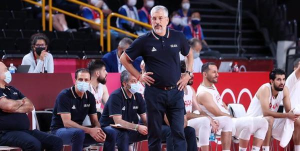 شکست بسکتبال ایران از المپیک,بسکتبال ایران در المپیک 2020