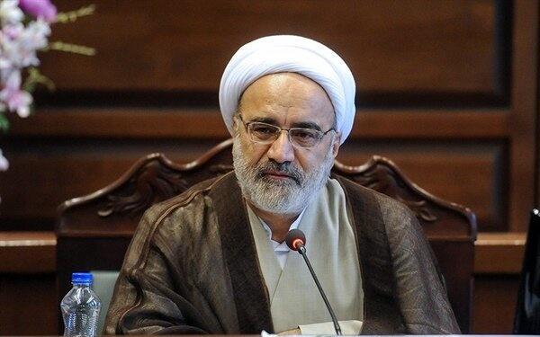 حجتالاسلام والمسلمین مصدق,تودیع و معارفه رئیس دیوان عدالت اداری