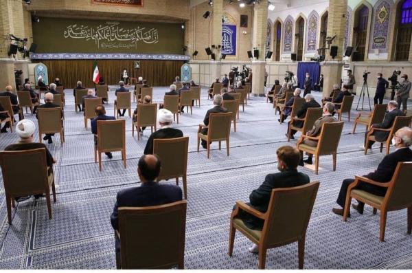 رئیسجمهور و اعضاء هیئت دولت با رهبر,دیدار روحانی با رهبر