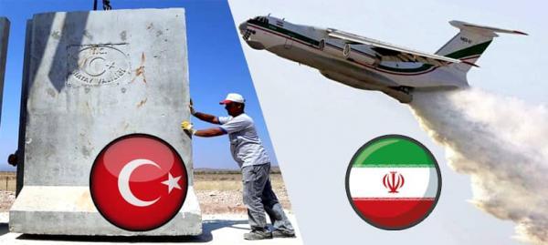 روابط ایران و ترکیه,کمکهای ایران به ترکیه