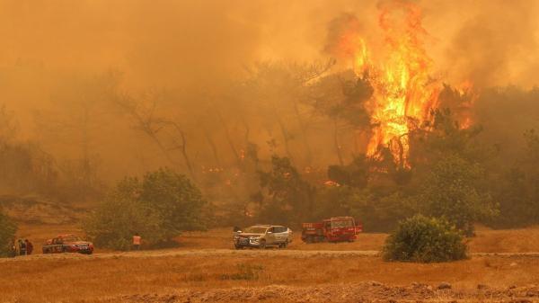 آتش سوزیها در جنگلهای استان موغلای ترکیه,آتش سوزی ترکیه