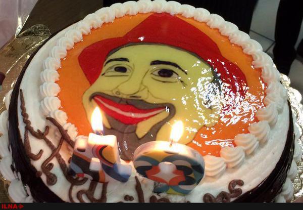 شوخی عجیب دوستان یک زن در جشن تولدش,عکس جشن تولد
