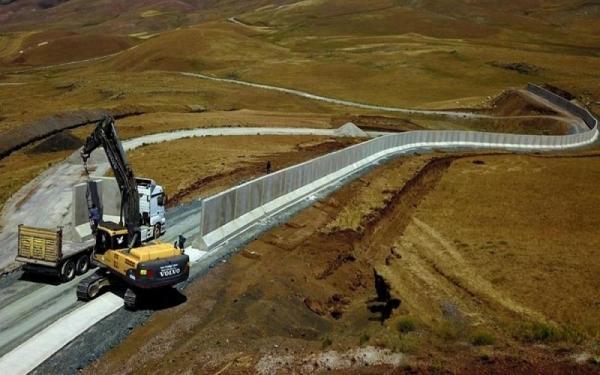 دیوار مرزی ایران و ترکیه,ساخت دیوراز مرزی ایران و ترکیه