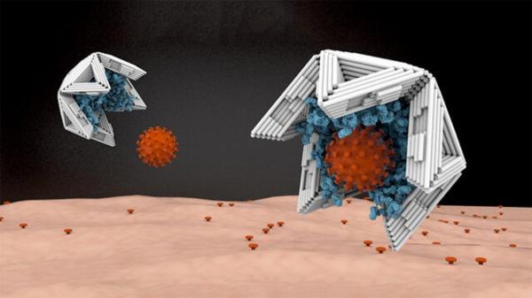 عقیم کردن ویروسها با محبوس کردن آنها,ویروس