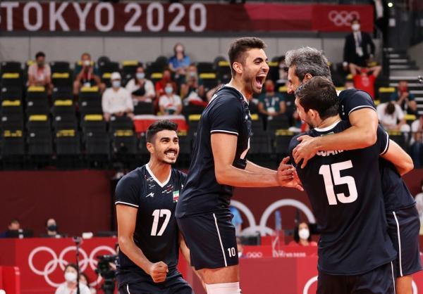 دیدار تیم ملی والیبال ایران و لهستان,والیبال المپیک 2020 توکیو