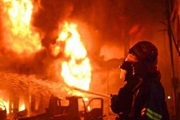آتش سوزی در انبار نگهداری مواد لجستیک شرکت چینی,حوادث چین