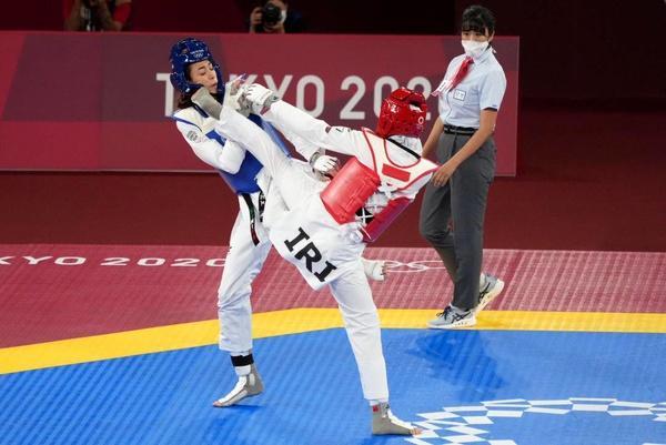 کیمیا علیزاده,المپیک 2020