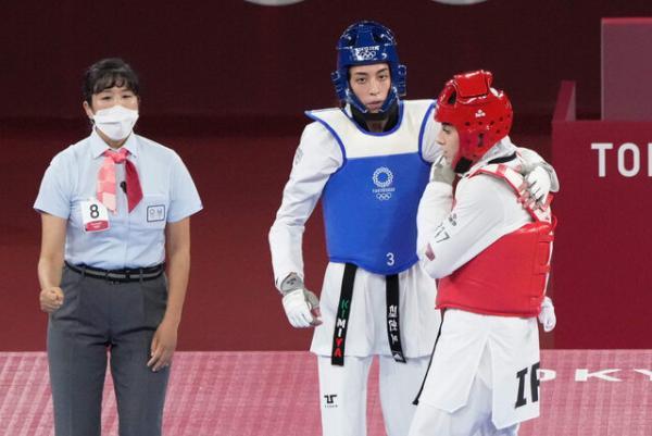 رقابت کیمیا علیزاده و ناهید کیانی,المپیک 2020
