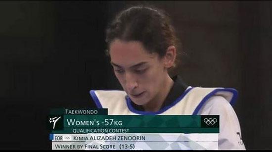 کیمیا علیزاده و ناهید کیانی,المپیک 2020 توکیو