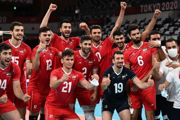 دیدار تیم ملی والیبال ایران و ونزوئلا,والیبال المپیک 2020 توکیو