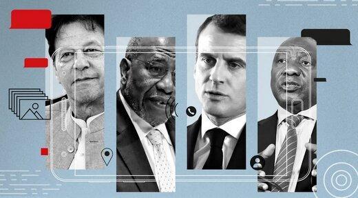 پگاسوس,حملات سایبری به رهبران جهان