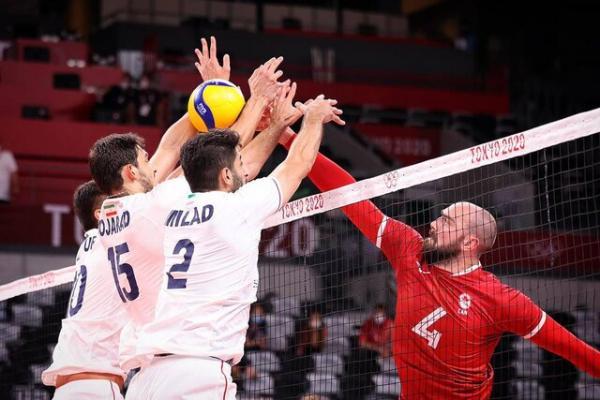 دیدار تیم ملی والیبال ایران و کانادا,والیبال المپیک 2020 توکیو